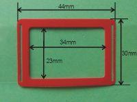 Zobrazit detail - Kalendářový jezdec NIKA 34 mm x 23 mm, 5 000ks