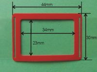 Zobrazit detail - Kalendářový jezdec NIKA 34 mm x 23 mm, 10 000ks